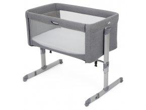 detska postielka joie roomie gray flannel 20201