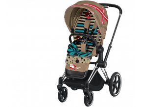 Cybex Priam chrome black Karolina Kurkova 2019