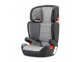 Autosedačka Kinderkraft Junior Fix Isofix siva