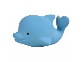 hrkalka a hryzatko tikiri ocean buddies z prirodnej gumy delfin1