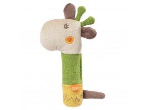 BABY Fehn Pískacia hračka do ruky, Loop & Lotta