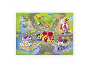Disney baby Podložka penová skladacia Disney Pals 120 x 89cm 6m+