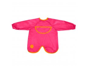 566 strawberry shake smock bib