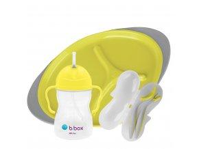 393 lemon sherbet feeding set