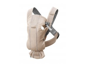 vyr 268 Baby Carrier Mini Pearly pink 3D Mesh 11