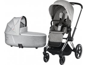 Cybex Priam chrome black vanicka Koi