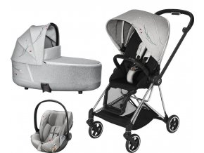 CYBEX Mios chrome black Koi vanicka Cloud Z