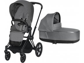 Priam PLUS manhattan grey MATT BLACK