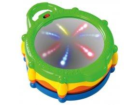 Bright starts Hračka bubon hudobný a svietiaci Light & Giggle Drum™ 6-36 m