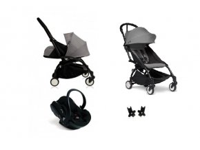 Babyzen Kombinovaný kočík YOYO2+ All-in-1 podvozok Black