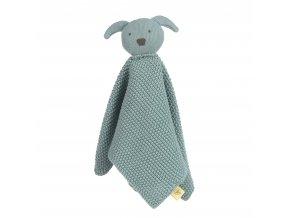 Knitted Baby Comforter Little Chums detský maznáčik