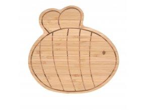 Breakfast Board Bamboo Wood Garden Explorer Raňajková doska
