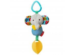 Skip Hop Hračka na C krúžku Bandana Buddies Malý slon 0m+