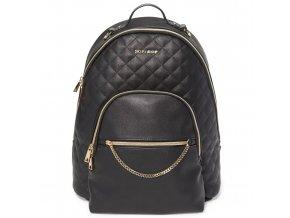 Skip Hop Taška prebaľovacia/batoh Linx Quilted Backpack Black