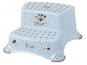 Keeeper dvojstupienok k umývadlu a WC Mickey&Minnie