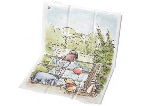 Keeeper Cestovná prebaľovacia podložka Winnie Pooh