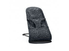 lehatko babybjorn bouncer bliss anthracite leopard mesh soft collection 800x800
