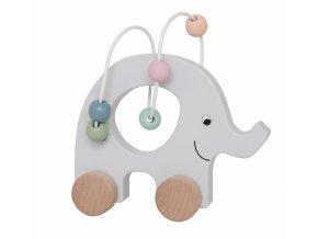 c2511 pull elephant abacus nature