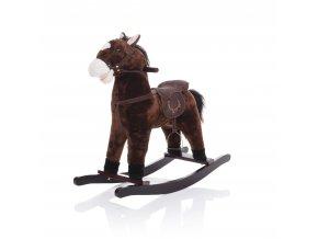 Zopa Hojdací kôň tmavo hnedý