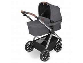 kinderwagen stroller samba asphalt 01 babywanne 01