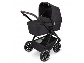 kinderwagen stroller samba midnight 01 babywanne 01