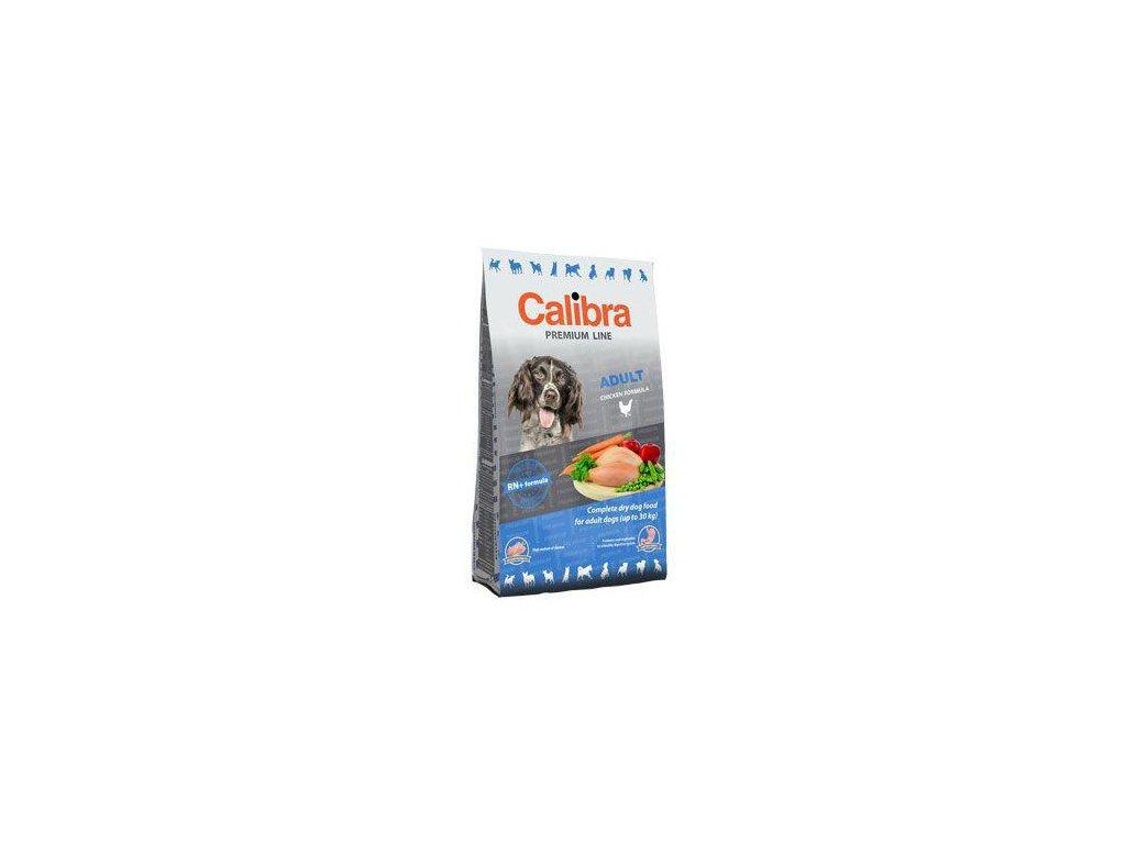 Calibra Dog Premium Line Adult 12kg  + 12kg+3kg GRÁTIS (platí do 31.10.20)