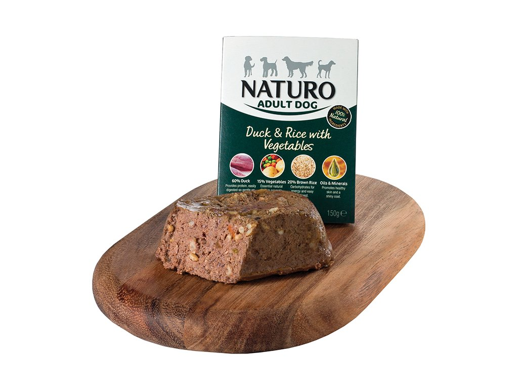 Naturo Adult Duck & Rice with Vegetables 150g