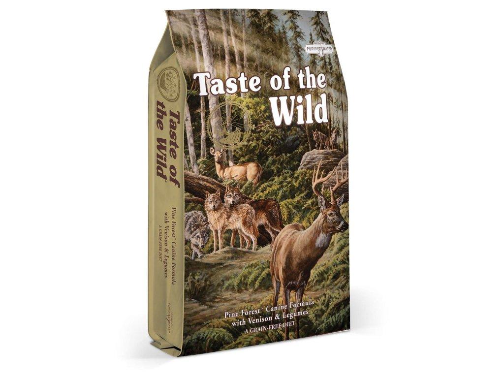 Taste of the Wild Pine Forest 2x12,2kg  Chovatelská balení 2 x 12,2kg