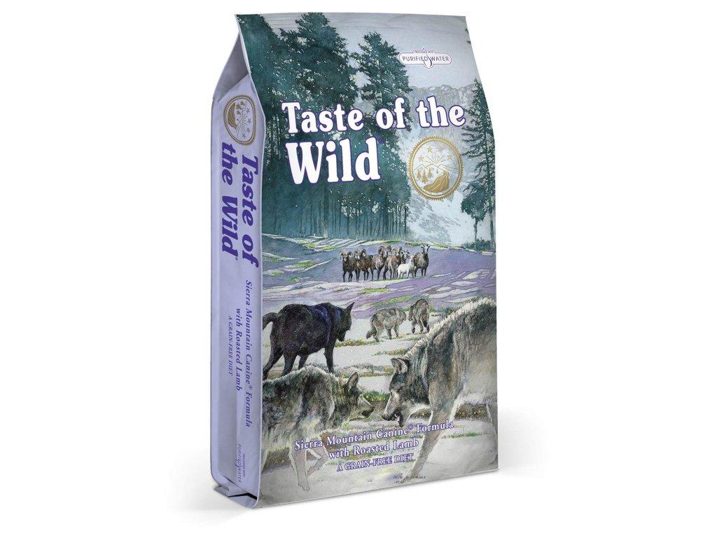 Taste of the Wild Sierra Mtn. Canine 2x12,2kg  Chovatelská balení 2 x 12,2kg
