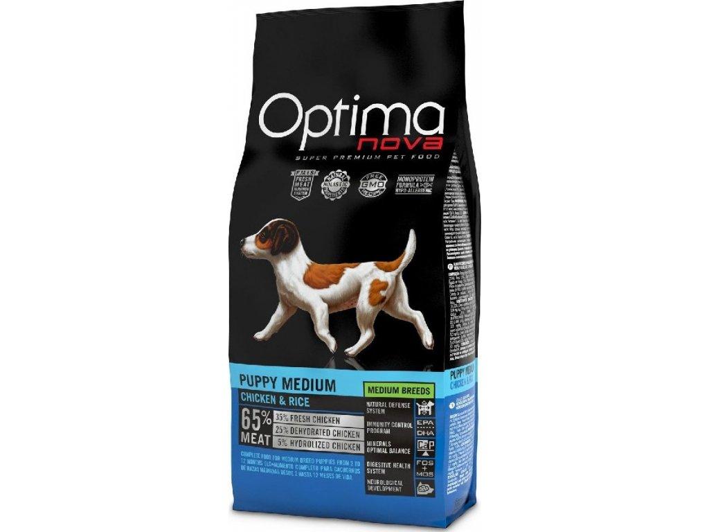 OPTIMAnova Dog Puppy Medium 12kg