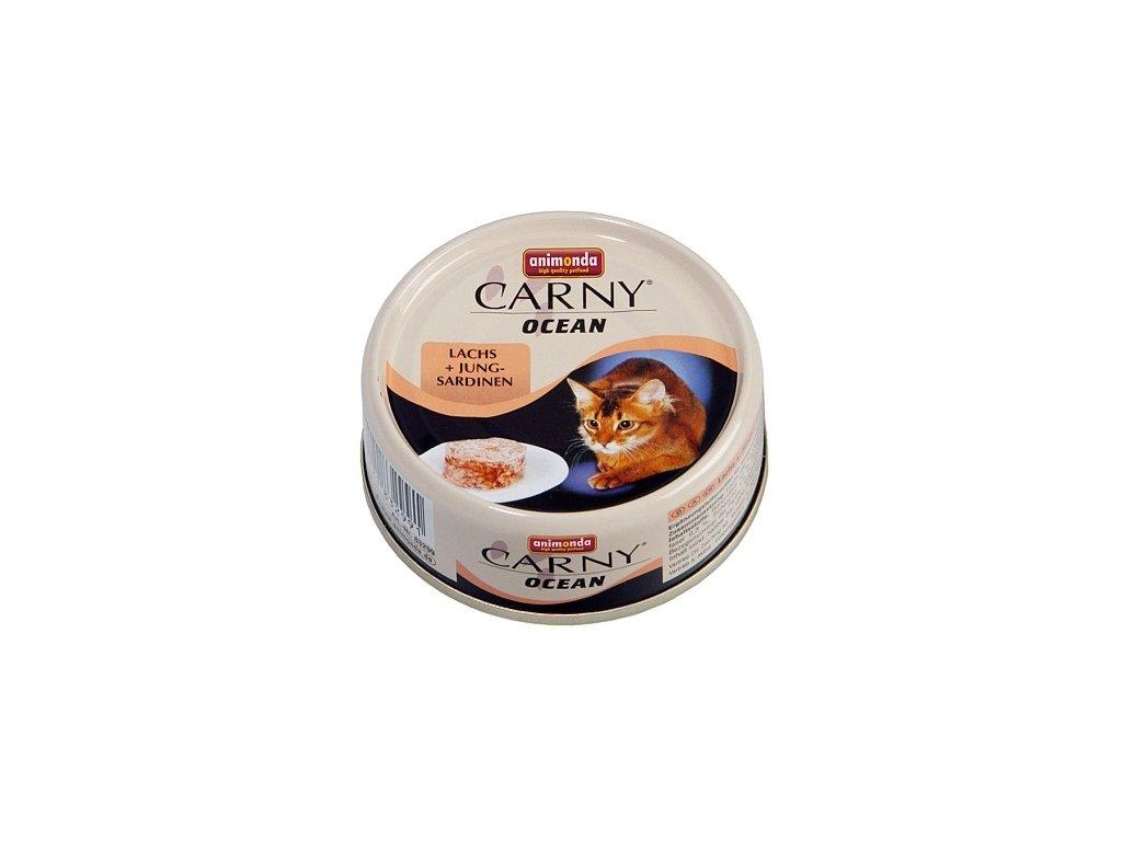 Animonda Carny Ocean - losos + sardinky 80g