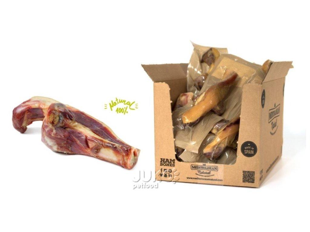 Serrano half Ham Bone and Knuckle cca 200g Poloviční šunková kost a kloub