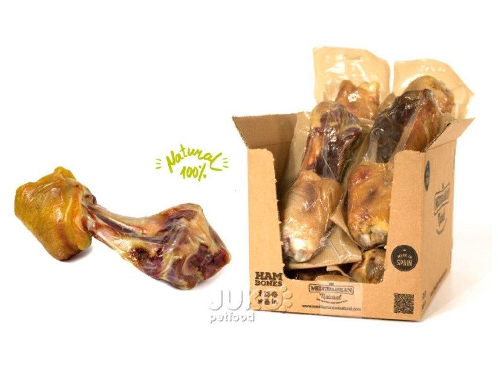 Serrano Mega Meaty Ham Bone cca 550g Obří masová šunková kost