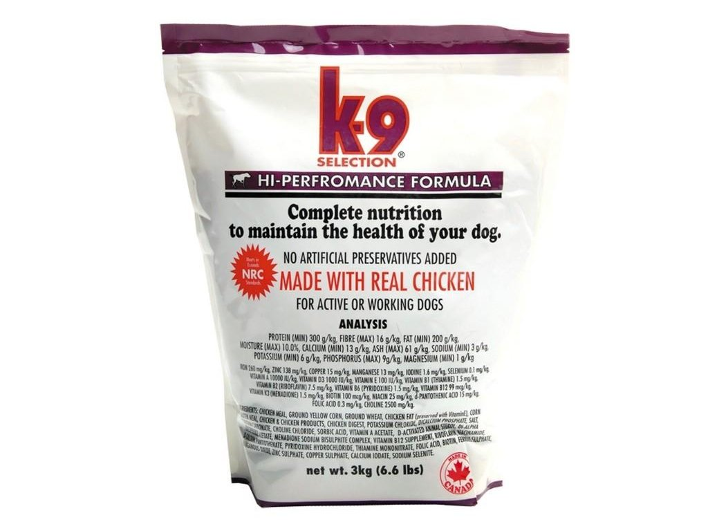 K-9 Selection HI Performance 3kg