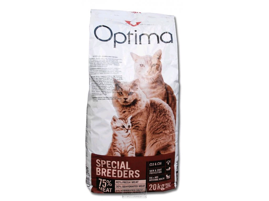 Optima CAT Adult losos a rýže 20 kg