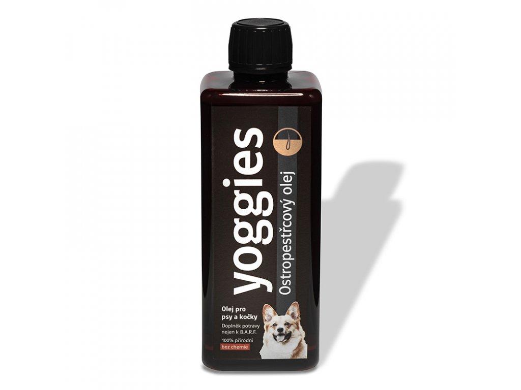 ostropestrecovy olej pro psy a kocky 500 ml