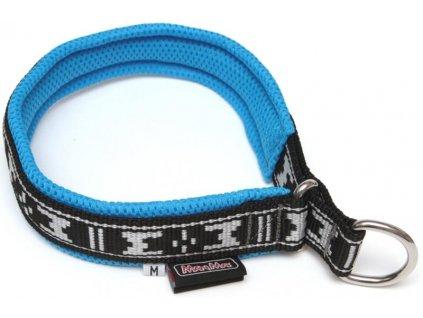 Obojek nylon polstrovaný - modrý ManMat