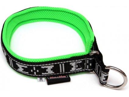 Obojek nylon polstrovaný - zelený ManMat