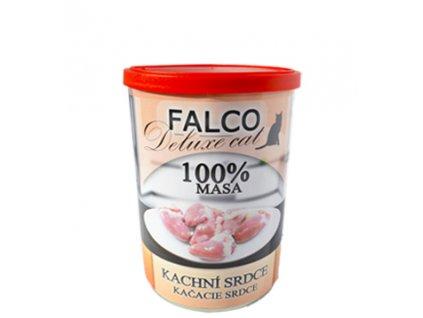 FALCO Cat Deluxe KACHNÍ SRDCE 400g