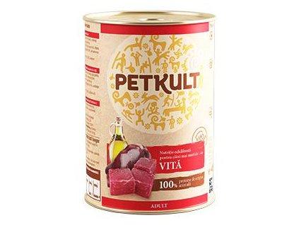 PETKULT dog konz. ADULT 800g - Hovězí