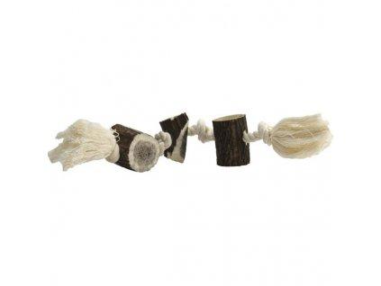 Paroží na bavlněném provazu maxi 150-180g