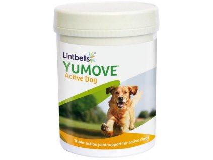 Lintbells YuMOVE Young and Active pro psy 240 žvýkacích tablet