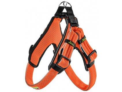 Postroj Manoa Vario Quick Light oranžová M 3,3x55-65cm Hunter