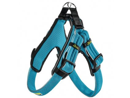Postroj Manoa Vario Quick Light modrý M 3,3x55-65cm Hunter