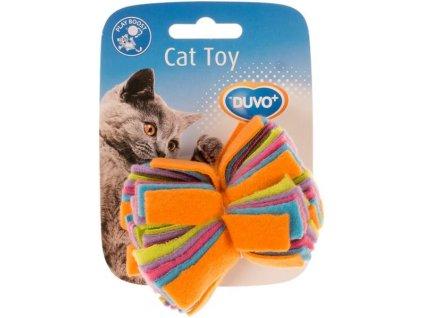 Hračka cat fleece DUVO+ střapec