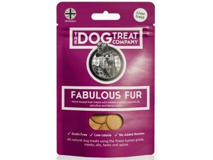 The Dog Treat Company játrové sušenky-báječný kožich 50g