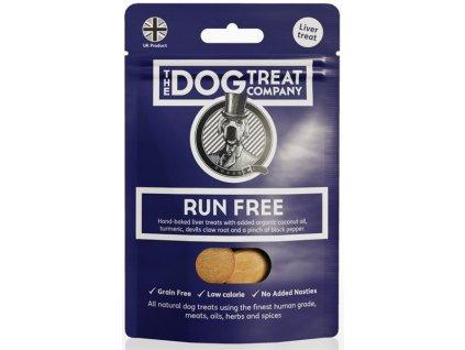 The Dog Treat Company játrové sušenky-svobodné běhání 50g
