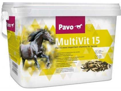 Pavo MultiVit 15 NOVÝ 3 kg