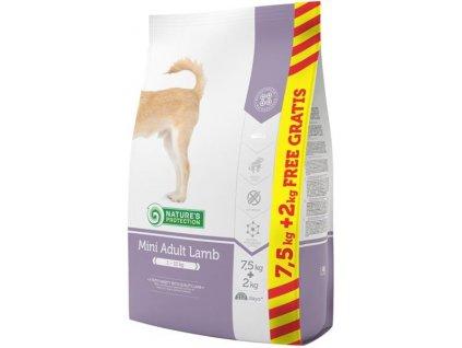 Nature's Protection Dog Dry Adult Mini Lamb 7,5+2 kg