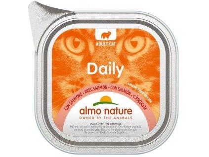 Almo Nature Daily Menu cat van. losos 100g